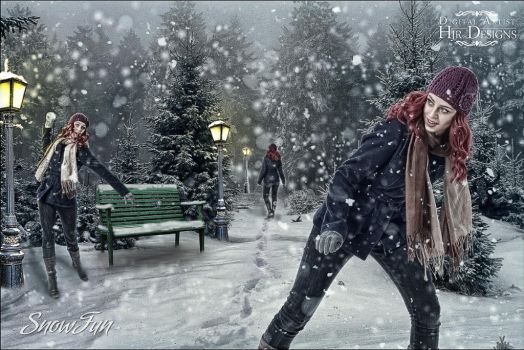 Snow Fun (*Updated 26 Nov 2012*) by HJR-Designs