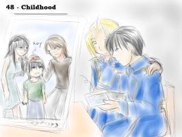 Theme 48 - Childhood by ChibiEdo