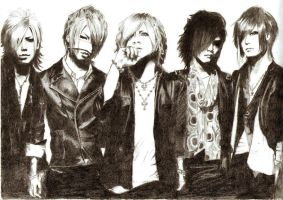 The GazettE by Twilight-blood