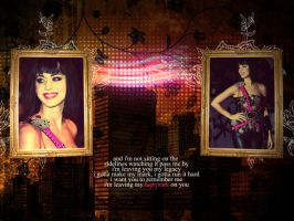 Katy Perry Wallpaper by IrisVampyria
