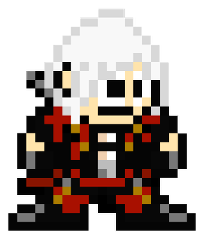 Dante (DMC4) - MegaMan Style by MaikeruThePlayer