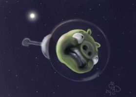 Angry Birds SPACE by bradsmith20