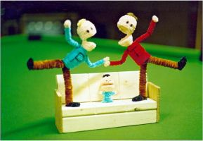 Pipe Cleaner Terrence n Philip by fuzzymutt