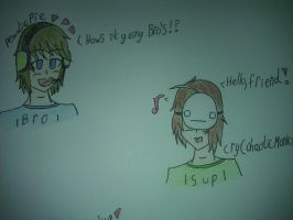 PewdiePie and Cry by KattyCobra