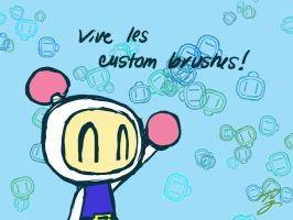 vive les custom brushes by Sora-G-Silverwind