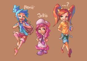 Awesome Trio by es-jeruk