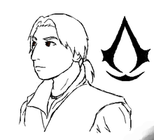 iScribble Young Ezio by zephyr-san