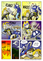 Camillo vs. Asteroth by Comic-Ray