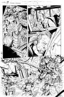 Grimlock page 07 inks by MarceloMatere