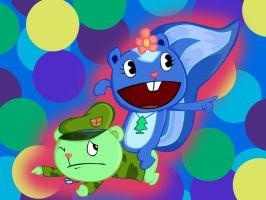 Petunia and Flippy by Jessie-KatCat