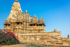 Incredible India - staircase to Khajuraho temple by Rikitza