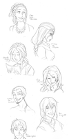 Jingdou Headshot Requests 2 by hyperionwitch