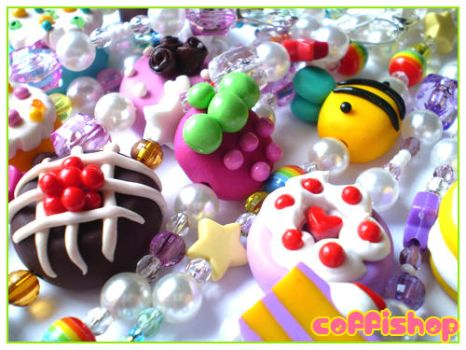 Cute and colorful bracelets by coffishop