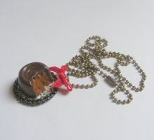 rolo pendant necklace  from NeatEats shop by rhonda4066