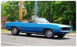 A 1969 Camaro SS Convertible by TheMan268