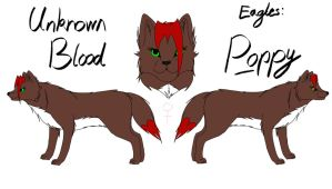 Unknown Blood - Poppy Reference by fluffylovey