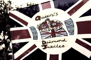 Queen's Diamond Jubilee by TheLovingKind89