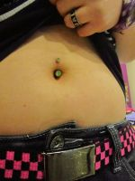 belly button ring by Nalzerz