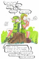 The misadventures of Link - 4 by Anorya