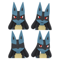 [Animation] Lucario Facial Test by V--R