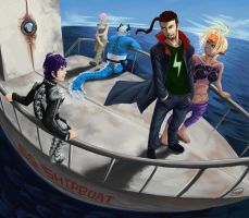 Five on the S.S.SHIPBOAT by Danopolis