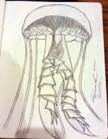 Jelly Fish by TheSilverLining32