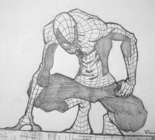 Spidey sketchie by shanelong