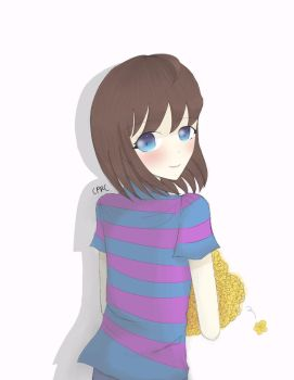 Frisk Sketch by Creepypastasarecool