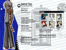 Gabriel Tear Bio by PrincessAbiliss
