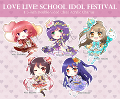 Love Live Charms Preorders OPEN! by Illycia