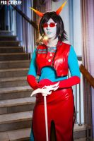 Redglare Cosplay by Sioxanne