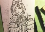 Gothic Lolita Inktober 2015 Day 1 by MaliciousNature