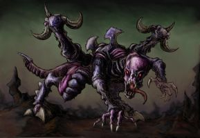 Tyranid by NoodleArt