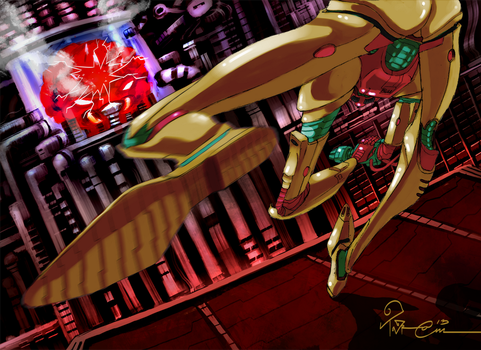 Metroid 1986 by TaraGraphic