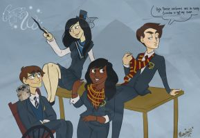 Glee: Hogwarts is Tacky? by Muchacha10