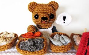 amigurumi crochet contest entry by hellohappycrafts