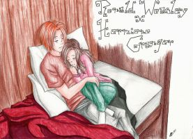 Ron and Hermione by Princess-Hazel