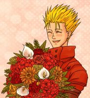 TRIGUN - smile by FerioWind