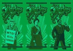 Martyrs's Ball - 2011 Print by scumbugg