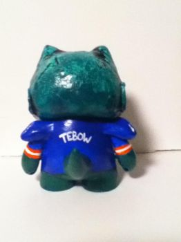 Florida Gator Tebow Munny -back view- by Last-Superpower