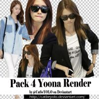 Pack 4 Yoona Render cut by @MEU by CatbeYOLO