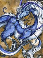 Eloren - ACEO by windfalcon
