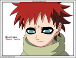 Gaara Vector by raziel-kain