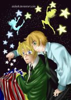 The stars of America by Gigibell