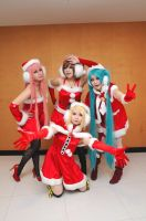 merry christmas vocaloid4 by Asuka10