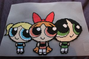 X-Stitch - PowerPuff Girls! by thirteendaze