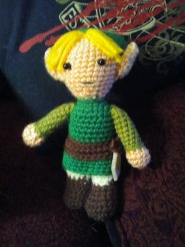 Link from Zelda by laurencrochets
