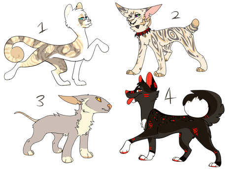 Collab adopts! by Marble-arts
