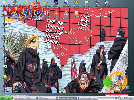 August Desktop - Akatsuki by RedEyesMetal