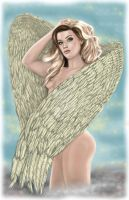 Kat as Angel by PaulMichaels